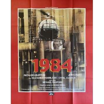 1984 Original Movie Poster- 47x63 in. - 1984 - Michael Radford, John Hurt