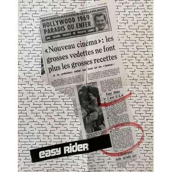 EASY RIDER Affiche de film Review - 40x60 cm. - 1969 - Peter Fonda, Dennis Hopper