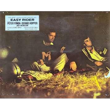 EASY RIDER Original Lobby Card N05 - 10x12 in. - 1969 - Dennis Hopper, Peter Fonda