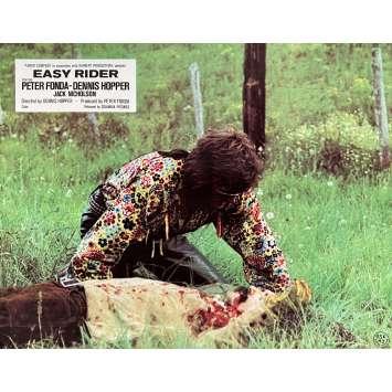 EASY RIDER Original Lobby Card N06 - 10x12 in. - 1969 - Dennis Hopper, Peter Fonda