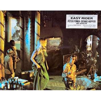 EASY RIDER Original Lobby Card N07 - 10x12 in. - 1969 - Dennis Hopper, Peter Fonda
