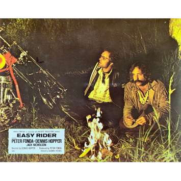 EASY RIDER Original Lobby Card N08 - 10x12 in. - 1969 - Dennis Hopper, Peter Fonda