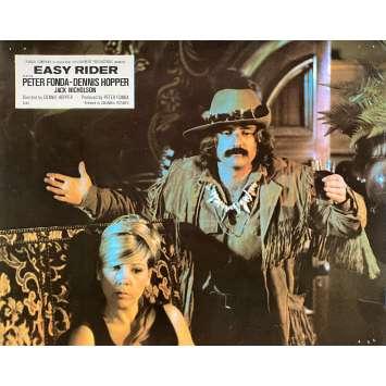 EASY RIDER Original Lobby Card N10 - 10x12 in. - 1969 - Dennis Hopper, Peter Fonda