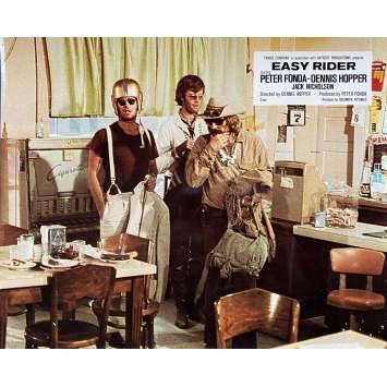EASY RIDER Original Lobby Card N13 - 10x12 in. - 1969 - Dennis Hopper, Peter Fonda