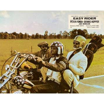 EASY RIDER Original Lobby Card N15 - 10x12 in. - 1969 - Dennis Hopper, Peter Fonda