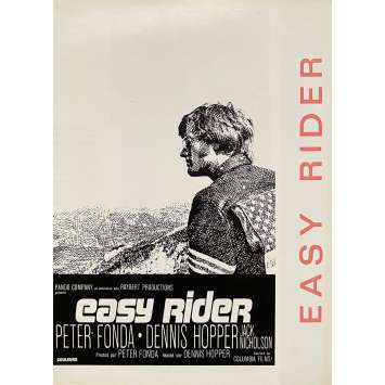 EASY RIDER Synopsis- 18x24 cm. - 1969 - Peter Fonda, Dennis Hopper