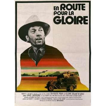 EN ROUTE POUR LA GLOIRE Affiche de film- 40x60 cm. - 1976 - David Carradine, Hal Ashby