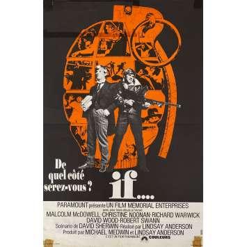 IF Affiche de film- 40x60 cm. - 1968 - Malcolm McDowell, Lindsay Anderson