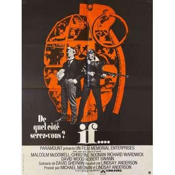 IF Affiche de film- 60x80 cm. - 1968 - Malcolm McDowell, Lindsay Anderson