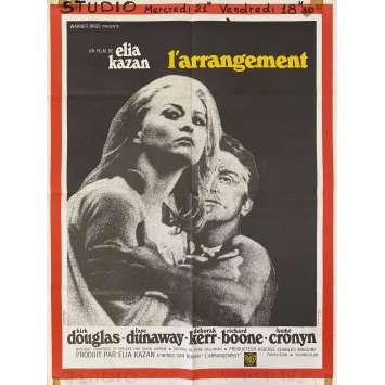 L'ARRANGEMENT Affiche de film- 60x80 cm. - 1969 - Kirk Douglas, Elia Kazan