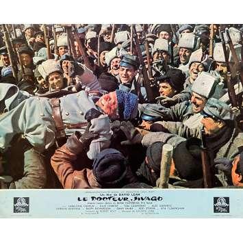 DOCTOR ZHIVAGO Original Lobby Card N08 - 9x12 in. - 1965 - David Lean, Omar Shari, fJulie Christie