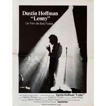 LENNY Original Herald- 9x12 in. - 1974 - Bob Fosse, Dustin Hoffman