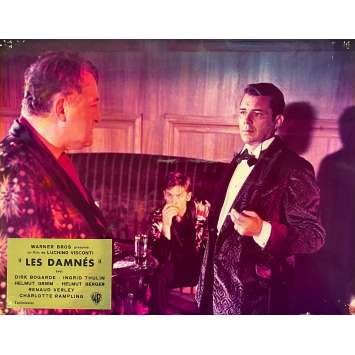 THE DAMNED Original Lobby Card N02 - DeLuxe - 10x12 in. - 1969 - Luchino Visconti, Dirk Bogarde