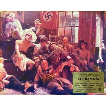 THE DAMNED Original Lobby Card N03 - DeLuxe - 10x12 in. - 1969 - Luchino Visconti, Dirk Bogarde