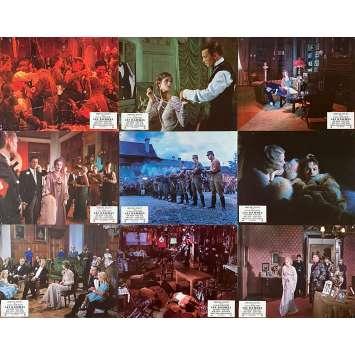 THE DAMNED Original Lobby Cards x18 - 9x12 in. - 1969 - Luchino Visconti, Dirk Bogarde