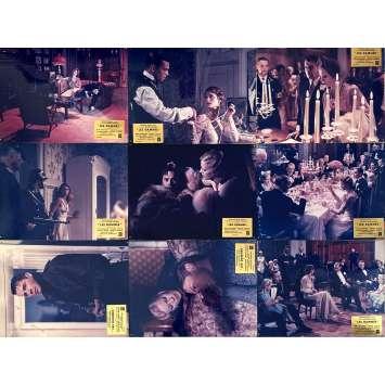 THE DAMNED Original Lobby Cards x9 - 12x15 in. - 1969 - Luchino Visconti, Dirk Bogarde