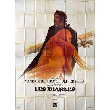 LES DIABLES Affiche de film- 240x320 cm. - 1971 - Oliver Reed, Ken Russel