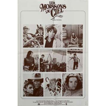 DAYS OF HEAVEN Original Herald- 10x12 in. - 1978 - Terence Malick, Richard Gere