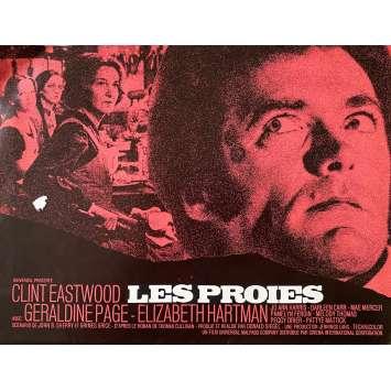 LES PROIES Synopsis- 24x30 cm. - 1971 - Clint Eastwood, Don Siegel