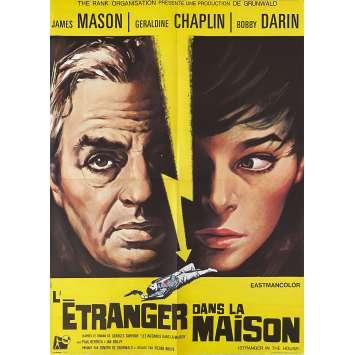 L'ETRANGER DANS LA MAISON Affiche de film- 60x80 cm. - 1967 - James Mason, Geraldine Chaplin, Pierre Rouve