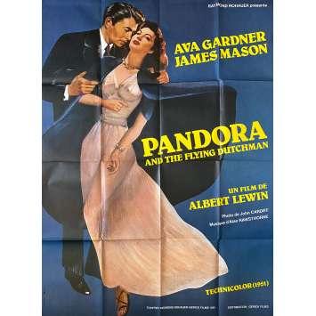 PANDORA Affiche de film- 120x160 cm. - R1980 - Ava Gardner, Albert Lewinn