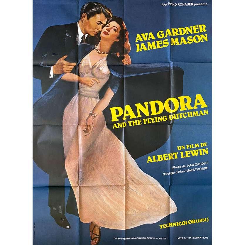 PANDORA Original Movie Poster- 47x63 in. - R1980 - Albert Lewinn, Ava Gardner