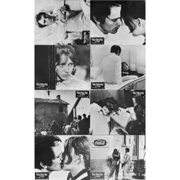 THEOREME Photos de film x8 - Jeu B - 21x30 cm. - 1968 - Terence Stamp, Pier Paolo Pasolini
