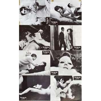 THEOREME Photos de film x8 - Jeu A - 21x30 cm. - 1968 - Terence Stamp, Pier Paolo Pasolini