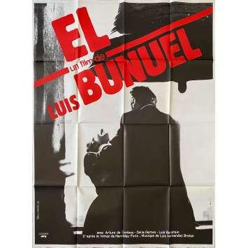 ÉL Original Movie Poster- 47x63 in. - R1980 - Luis Buñuel, Arturo de Córdova
