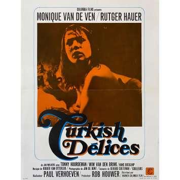 TURKISH DELICES Synopsis- 21x30 cm. - 1973 - Rutger Hauer, Paul Verhoeven