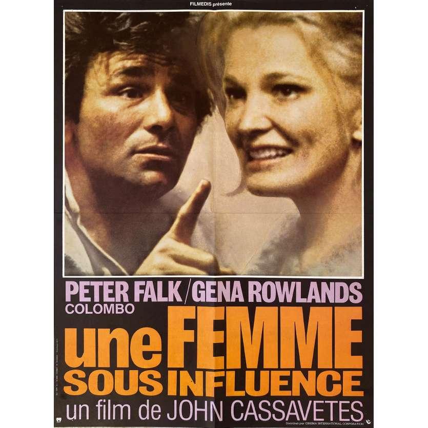 A WOMAN UNDER INFLUENCE Original Movie Poster- 15x21 in. - 1974 - John Cassavetes, Gena Rowlands