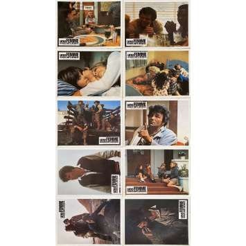 A WOMAN UNDER INFLUENCE Original Lobby Cards x10 - 9x12 in. - 1974 - John Cassavetes, Gena Rowlands