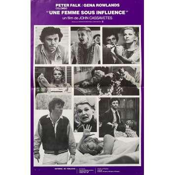 UNE FEMME SOUS INFLUENCE Synopsis- 24x30 cm. - 1974 - Gena Rowlands, John Cassavetes
