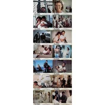ONE FLEW OVER THE CUCKOO'S NEST Original Lobby Cards x14 - 9x12 in. - 1975 - Milos Forman, Jack Nicholson