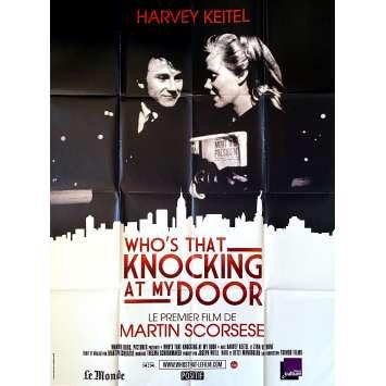 WHO'S THAT KNOCKING AT MY DOOR Original Movie Poster- 47x63 in. - R1990 - Martin Scorsese, Harvey Keitel