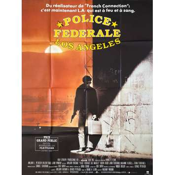 POLICE FEDERALE LOS ANGELES Affiche de film120x160 - 1984 - Willem Dafoe, William Friedkin