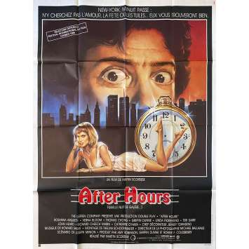 AFTER HOURS Original Movie Poster- 47x63 in. - 1985 - Martin Scorsese, Griffin Dunne
