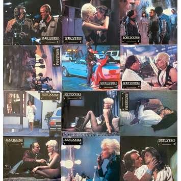 BODY DOUBLE Lobby Cards x12 - 9x12 in. - 1984 - Brian de Palma, Melanie Griffith