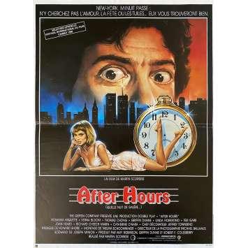 AFTER HOURS Affiche de cinéma- 40x60 cm. - 1985 - Griffin Dunne, Martin Scorsese
