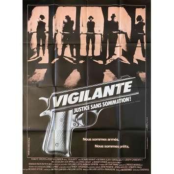 VIGILANTE Original Movie Poster- 47x63 in. - 1983 - William Lustig, Robert Forster