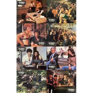 CRUISING Original Lobby Cards x8 - Set B - 9x12 in. - 1980 - William Friedkin, Al Pacino