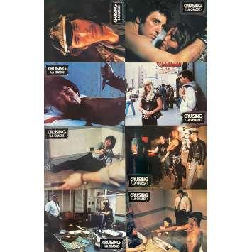 CRUISING Original Lobby Cards x8 - Set A - 9x12 in. - 1980 - William Friedkin, Al Pacino