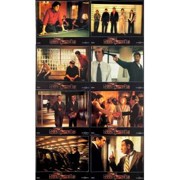 THE USUAL SUSPECTS Original Lobby Cards x8 - 9x12 in. - 1995 - Bryan Singer, Kevin Spacey