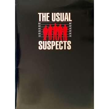 THE USUAL SUSPECTS Original Presskit 26p +5 stills - 9x12 in. - 1995 - Bryan Singer, Kevin Spacey