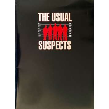 USUAL SUSPECTS Presskit 26p + 5 photos - 21x30 cm. - 1995 - Kevin Spacey, Bryan Singer