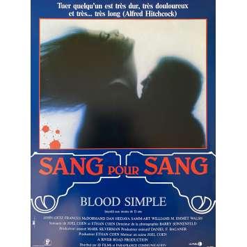 SANG POUR SANG Synopsis- 21x30 cm. - 1984 - Frances McDormand, Joel Coen
