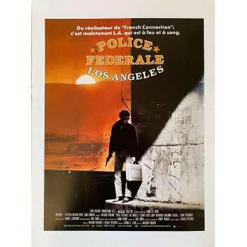 POLICE FEDERALE LOS ANGELES Synopsis- 21x30 cm. - 1984 - Willem Dafoe, William Friedkin