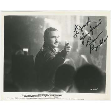 SHARKY'S MACHINE Original Signed Photo- 8x10 in. - 1981 - Burt Reynolds, Rachel Ward