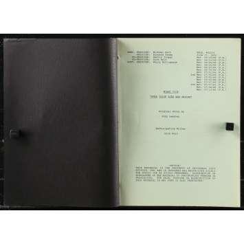 MIAMI VICE Original Movie Script 56p - 8x10 in. - 1984 - Michael Mann, Don Johnson