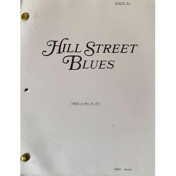 HILL STREET BLUES Movie Script S05E02, 56p - 8x10 in. - 1981 - Steven Bochco, Daniel J. Travanti